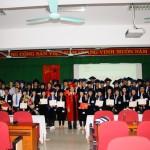 Lễ Bế giảng và trao bằng tốt nghiệp lớp Đại học Hành chính hệ chính quy cử tuyển KCT3 khóa học 2014 - 2019