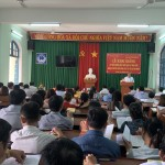 Khai giảng lớp Bồi dưỡng kiến thức quản lý nhà nước ngạch Chuyên viên năm 2019 tại thị xã An Nhơn tỉnh Bình Định