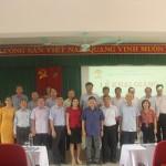 Khai giảng lớp Bồi dưỡng ngạch Chuyên viên cao cấp khóa II năm 2019 tại Phân viện Học viện Hành chính Quốc gia tại thành phố Huế