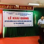 Khai giảng lớp Bồi dưỡng ngạch Chuyên viên chính năm 2020 tại tỉnh Quảng Ngãi