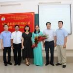 Phân viện Học viện Hành chính Quốc gia tại thành phố Huế tổ chức Bảo vệ luận văn Thạc sĩ đợt I năm 2020