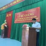 Bế giảng lớp Bồi dưỡng ngạch Chuyên viên năm 2019 tại thị xã Đức Phổ tỉnh Quảng Ngãi