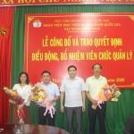 Tổng kết 8 tháng đầu năm và triển khai một số nhiệm vụ trọng tâm 4 tháng cuối năm 2020; Lễ công bố và trao Quyết định điều động, bổ nhiệm viên chức quản lý tại Phân viện Học viện Hành chính Quốc gia tại thành phố Huế