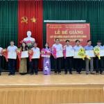 Bế giảng lớp Bồi dưỡng ngạch Chuyên viên chính năm 2020 tại huyện Quảng Điền, tỉnh Thừa Thiên Huế