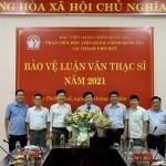 Phân viện Học viện Hành chính Quốc gia tại thành phố Huế tổ chức Bảo vệ luận văn Thạc sĩ tháng 6 năm 2021