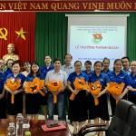 Lễ Trưởng thành Đoàn tại Phân viện Học viện Hành chính Quốc gia tại thành phố Huế
