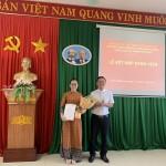 Chi bộ Phân viện Học viện Hành chính Quốc gia tại thành phố Huế tổ chức Lễ Kết nạp Đảng viên mới