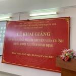 Khai giảng lớp Bồi dưỡng ngạch chuyên viên chính khóa 2/2021 tại tỉnh Bình Định