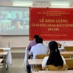 Khai giảng lớp Bồi dưỡng lãnh đạo, quản lý cấp Phòng khóa II/2021 tại Phân viện Học viện Hành chính Quốc gia tại thành phố Huế
