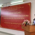 Khai giảng lớp Bồi dưỡng ngạch chuyên viên năm 2021 tại huyện Hoài Ân, tỉnh Bình Định