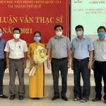 Phân viện Học viện Hành chính Quốc gia tại thành phố Huế tổ chức Bảo vệ luận văn Thạc sĩ tháng 8 năm 2021 (đợt 3)