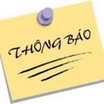 Thông báo số 528/TB-HCQG về kế hoạch thực tập và thi học kỳ 8 đối với sinh viên các lớp Đại học chính quy Khoá 17 tại Hà Nội