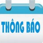Thông báo số 606/TB-HCQG về ngưỡng điểm đăng ký xét tuyển vào đại học hệ chính quy Khóa 18 năm 2017 của Học viện Hành chính Quốc gia