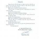 """Thông báo số 48/BĐT-QLSV Lịch học """"Tuần sinh hoạt công dân Học sinh, sinh viên"""" các lớp KH18A1,A2,A3"""